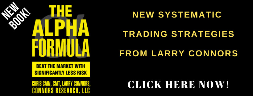 New Systematic Trading Strategies from Larry Connors