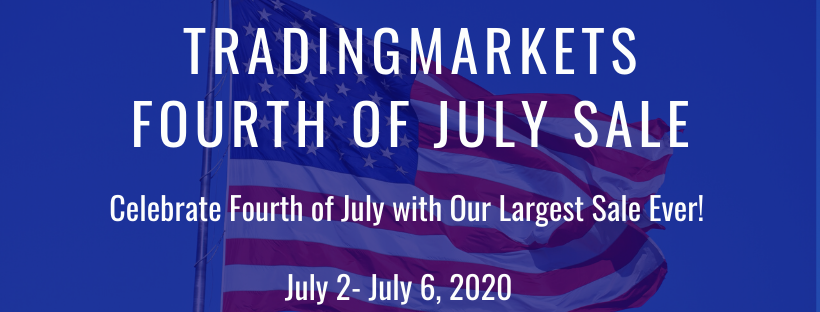 July 4 Holiday Sale